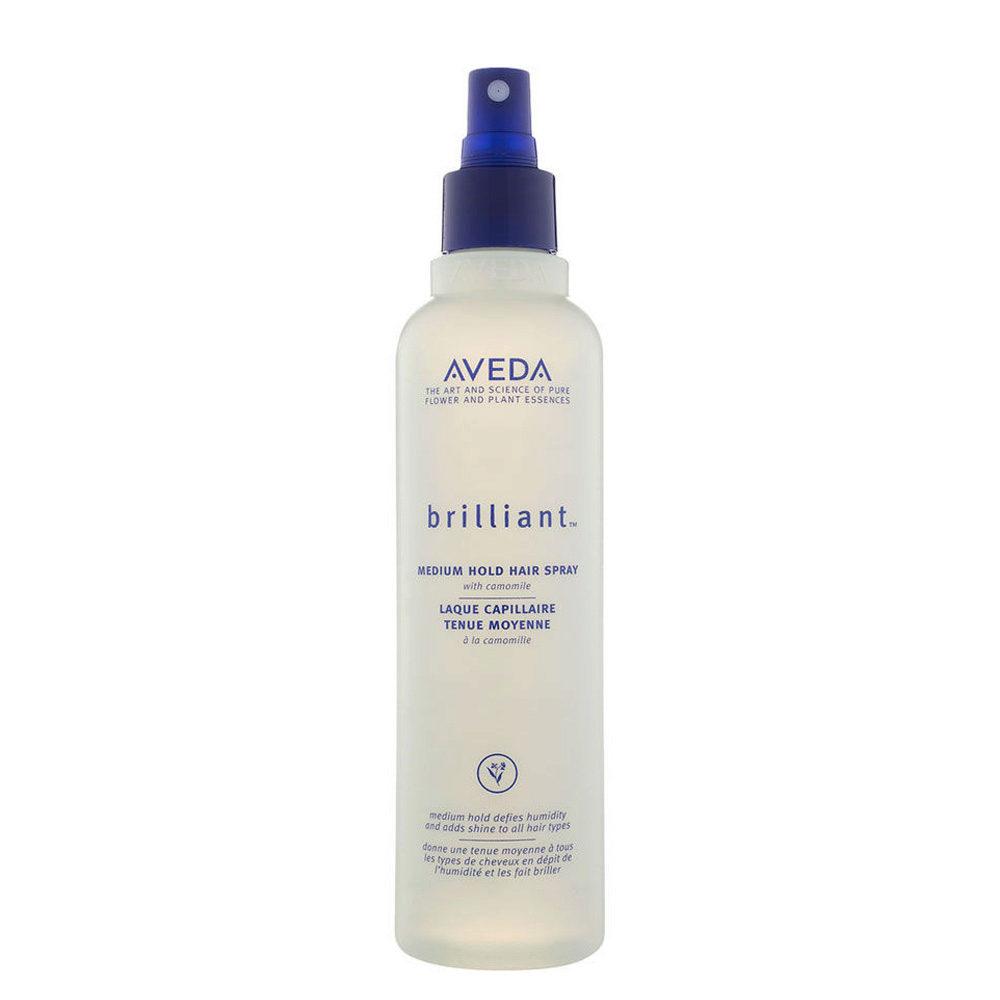 Aveda Styling Brilliant Medium hold hair spray 250ml