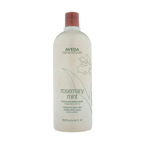 Aveda Bodycare Rosemary mint hand & body wash 1000ml