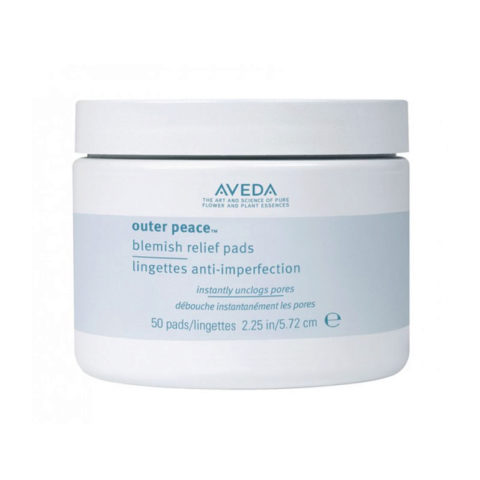Aveda Skincare Outer Peace Relief Pads 50disc bei Hautunreinheiten