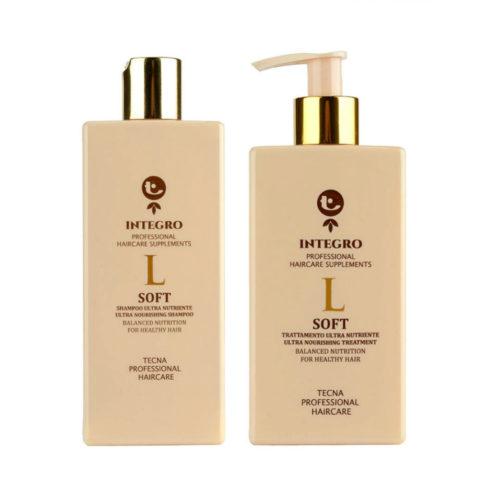 Tecna Integro Soft Kit Shampoo 250ml Treatment 200ml