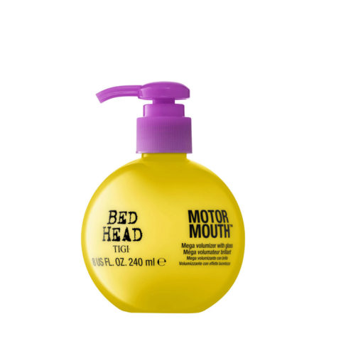 Tigi Bed Head Motor Mouth 240ml - plumping Creme mit hellen Oberfläche