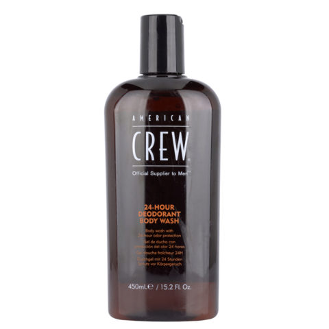 American Crew 24 hour deodorant Body wash 450ml - Schaumbad