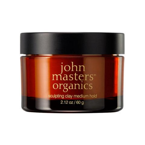John Masters Organics Haircare Sculpting Clay Medium Hold 60gr