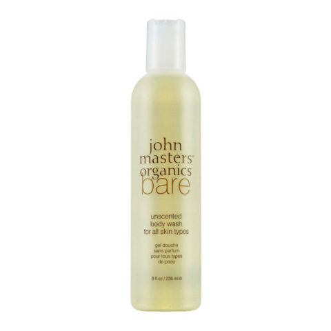 John Masters Organics Bare Unscented Body Wash for All Skin Types 236ml