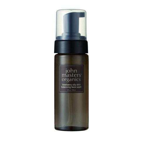 John Masters Organics Bearberry Oily Skin Balancing Face Wash 118ml