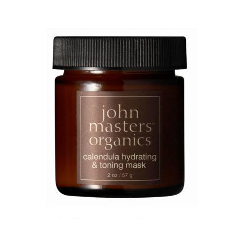 John Masters Organics Calendula Hydrating & Toning Mask 57gr feuchtigkeitsspendende und tonisierende Maske