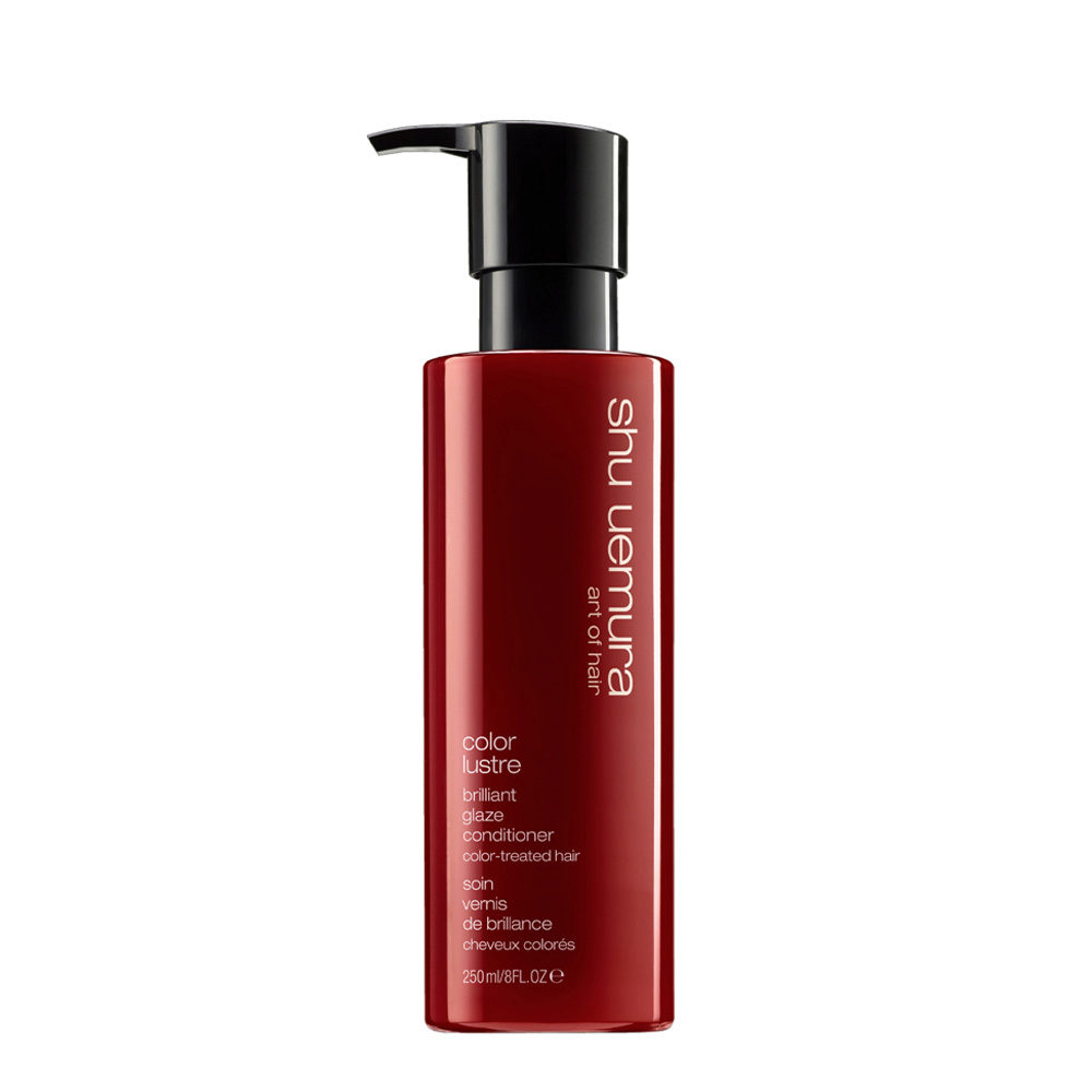 Shu Uemura Color lustre Brilliant glaze conditioner 250ml - Pflege für coloriertes Haar