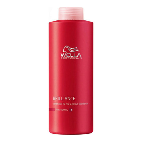 Wella Brilliance Conditioner 1000ml - fein/normal haar