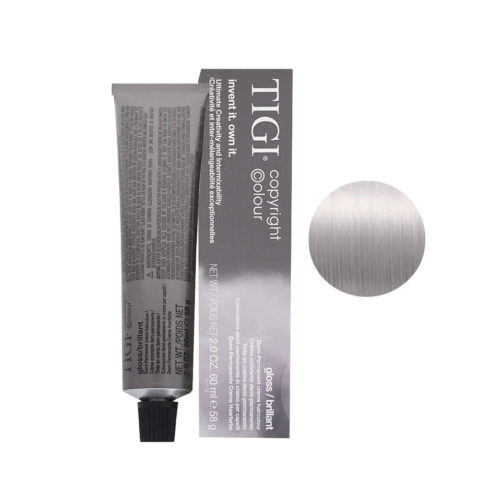 10/02 Purple natural platinum blonde Tigi Gloss 60ml