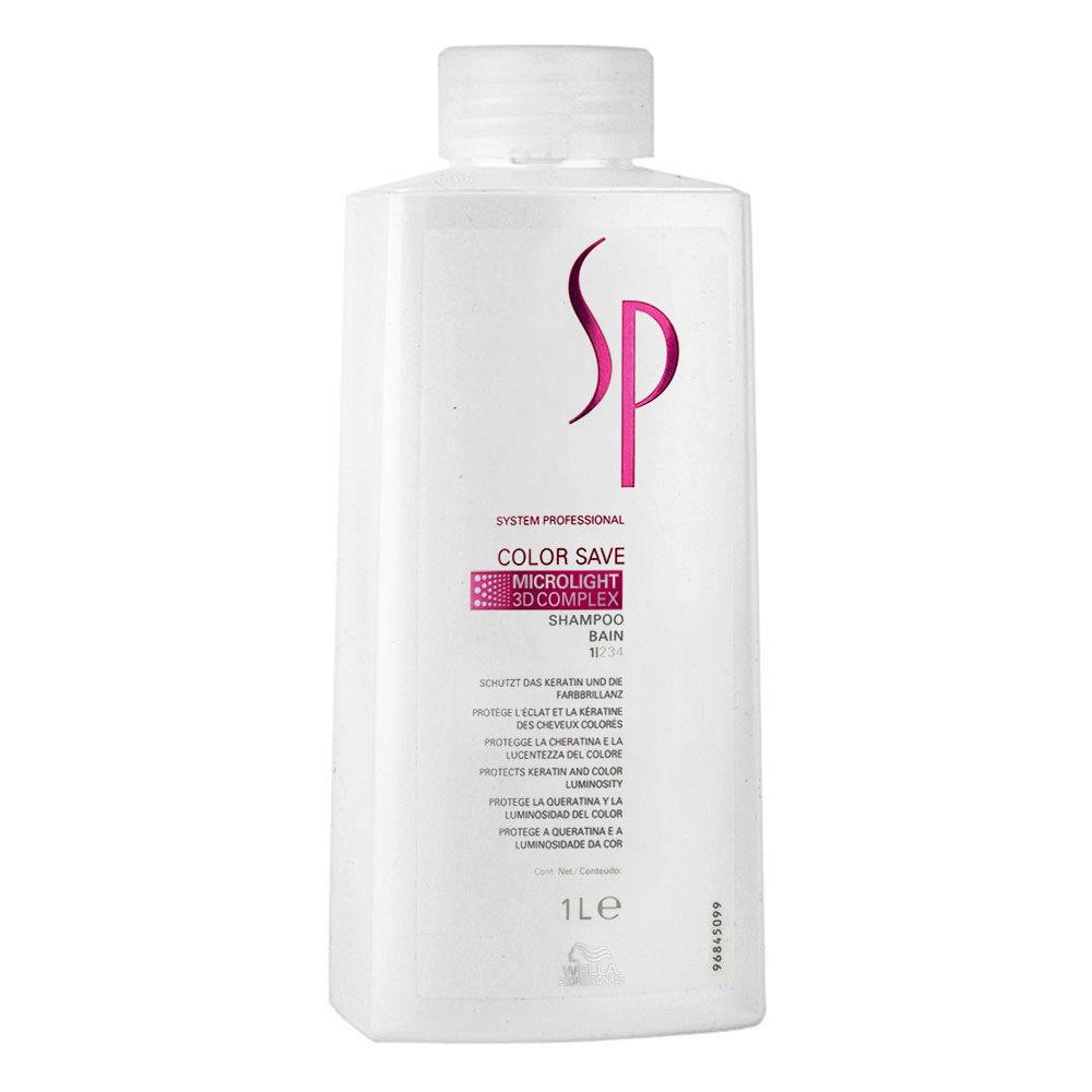 Wella SP Color Save Shampoo 1000ml