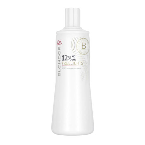 Wella Blondor Freelights Developer 12% 40 vol. 1000ml