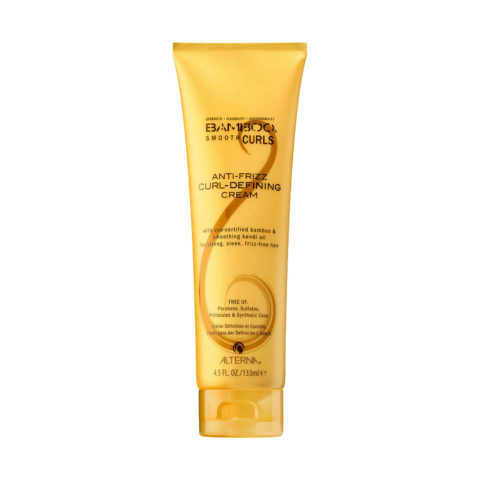Alterna Bamboo Smooth Curls Anti-frizz Curl defining cream 133ml - Styling-Creme glättet die Locken