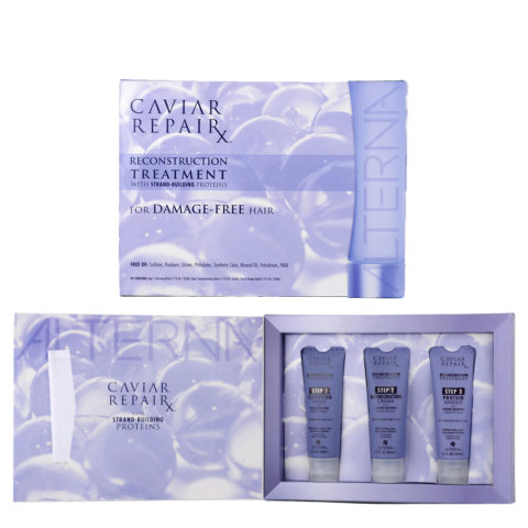 Alterna Caviar Repair Reconstruction Treatment 3 x 50ml