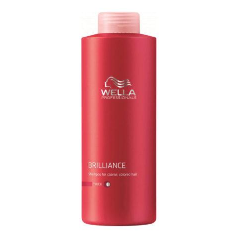 Wella Brilliance Shampoo 1000ml - dick haar