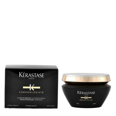 Kerastase Chronologiste Creme de regeneration masque 200ml - revitalisierende Haarmaske Behandlung von kraftlosem Haar