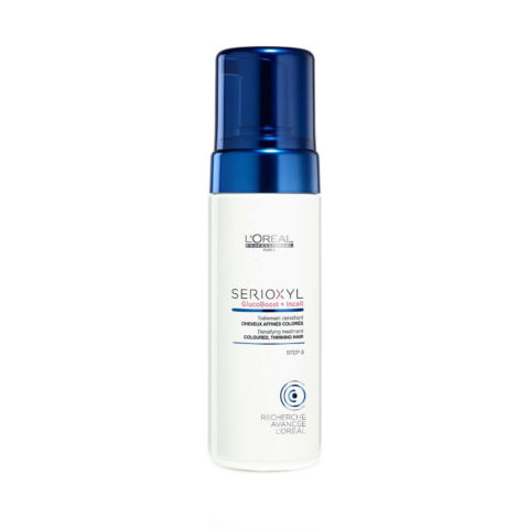 L'Oreal Serioxyl Aqua mousse Foam tech Densifying treatment coloriertes Haar 125ml