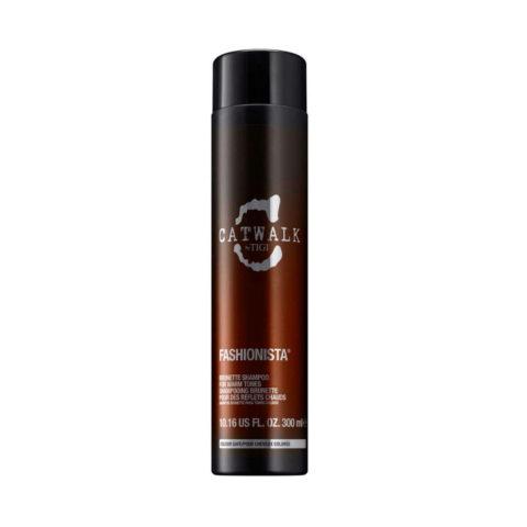 Tigi Catwalk Fashionista Brunette shampoo 300ml - für brünette Haare