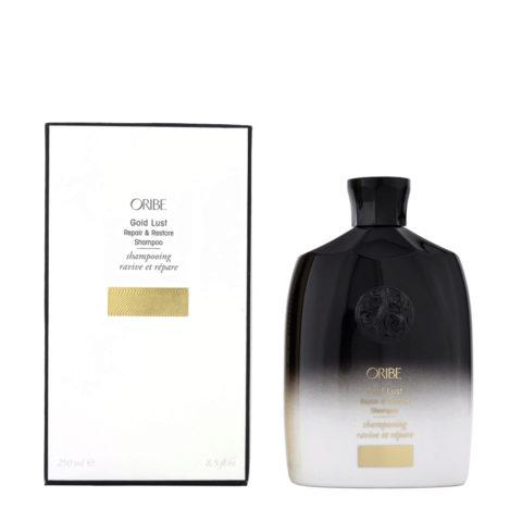 Oribe Gold Lust Repair & Restore Shampoo 250ml Reparatur Shampoo