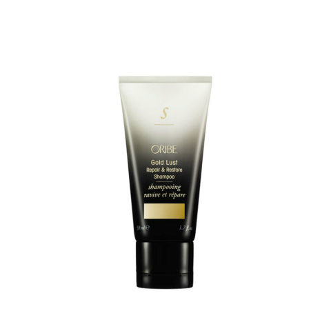 Oribe Gold Lust Repair & Restore Shampoo Travel size 50ml Reparatur Shampoo Reisegröße