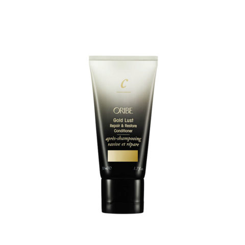 Oribe Gold Lust Repair & Restore Conditioner Travel size 50ml Reparatur und Wiederherstellung Conditioner Reisegröße