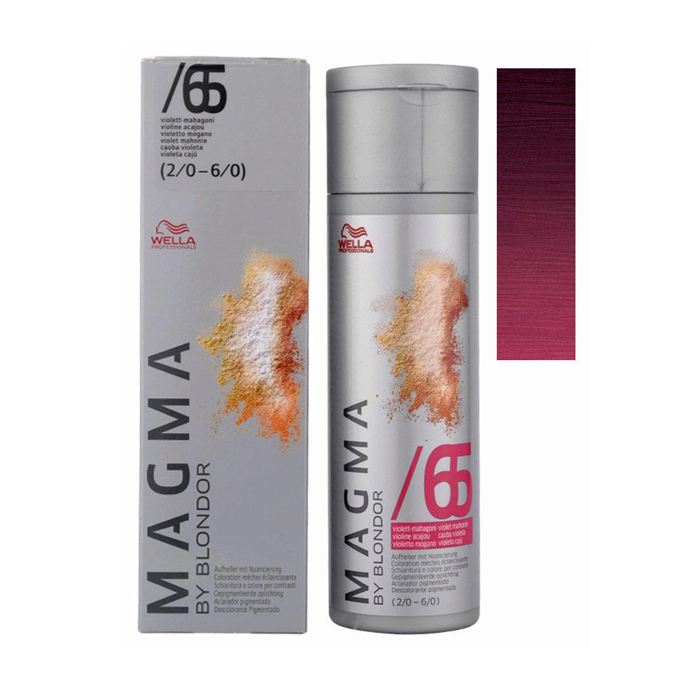 /65 Violett-mahagoni Wella Magma 120gr