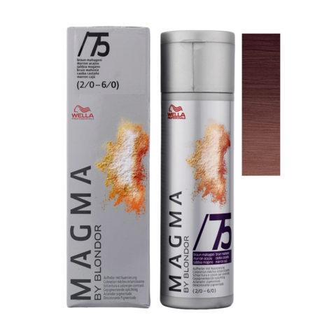 /75 Braun-mahagoni Wella Magma 120gr