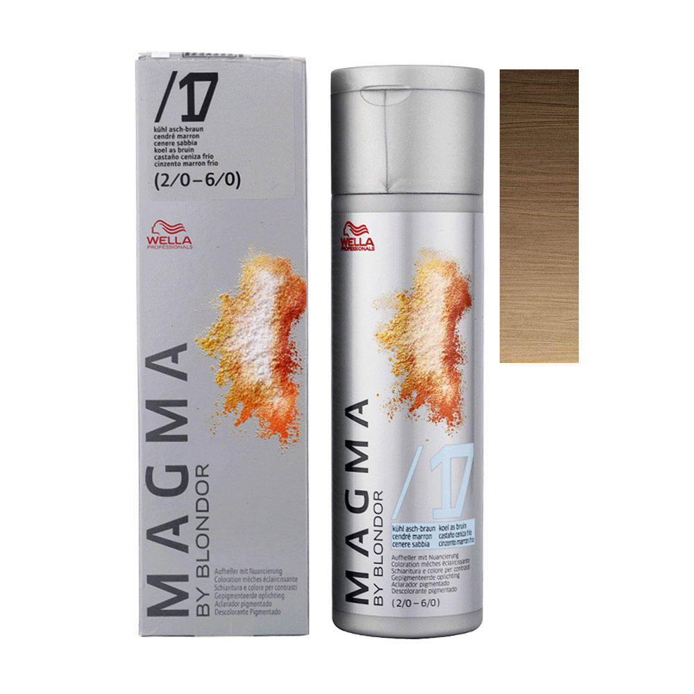 /17 Kühl asch-braun Wella Magma 120gr