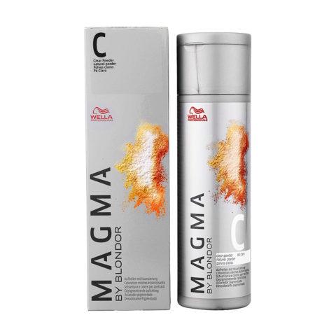 C Clear Powder neutral Wella Magma 120gr
