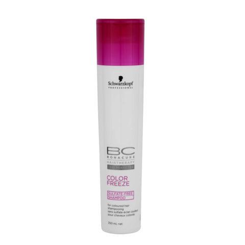 Schwarzkopf BC Bonacure Color Freeze Sulfate Free Shampoo 250ml - Shampoo für coloriertes Haar