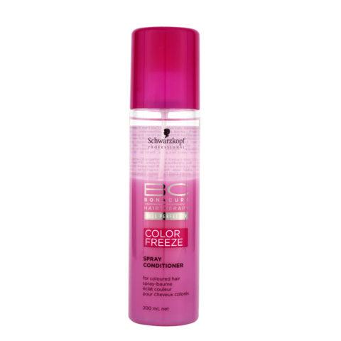 Schwarzkopf BC Bonacure Color Freeze Spray Conditioner 200ml - Pflege-Spray für coloriertes Haar
