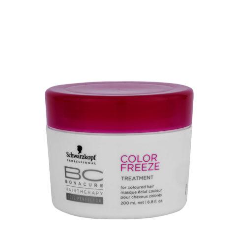 Schwarzkopf BC Bonacure Color Freeze Treatment 200ml - wiederaufbauende Kur für coloriertes Haar