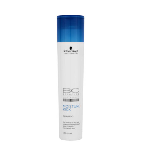 Schwarzkopf BC Bonacure Moisture Kick Shampoo 250ml - Feuchtigkeitsspendendes Shampoo