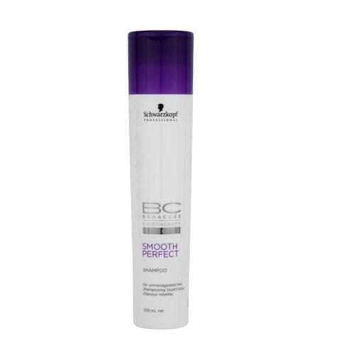 Schwarzkopf BC Bonacure Smooth Perfect Shampoo 250ml - Besänftigendes Shampoo