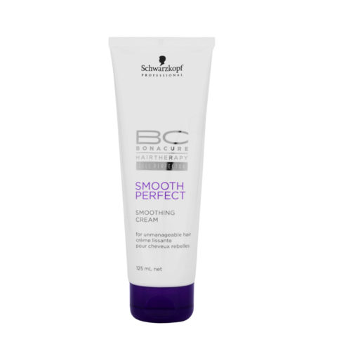 Schwarzkopf BC Bonacure Smooth Perfect Smoothing Cream 125ml - Glättende Creme
