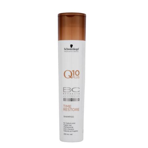 Schwarzkopf BC Bonacure Time Restore Shampoo 250ml - Sanft reinigendes Shampoo