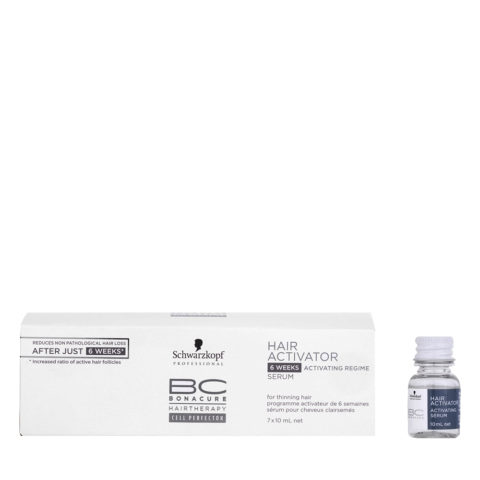 Schwarzkopf BC Bonacure Hairgrowth Hair Activator 7x10ml - Aktivierendes Haarserum