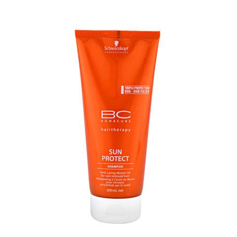 Schwarzkopf BC Bonacure Sun Protect Shampoo 200ml - Feuchtigkeitsshampoo für sonnenstrapaziertes Haar