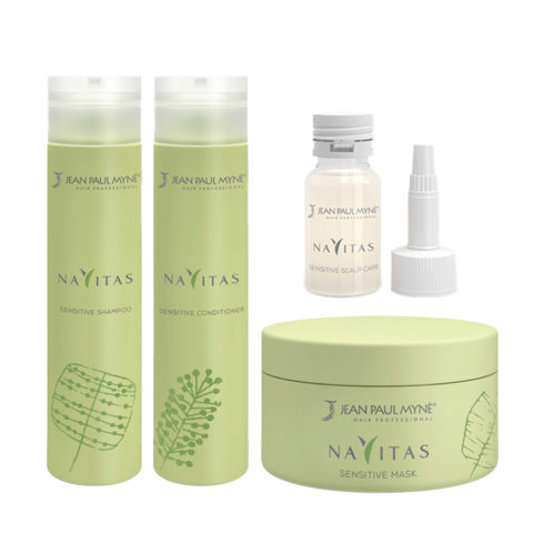 Jean Paul Mynè Navitas Kit Shampoo 250ml Scalp care 10x15ml Conditioner 250ml Mask 200ml