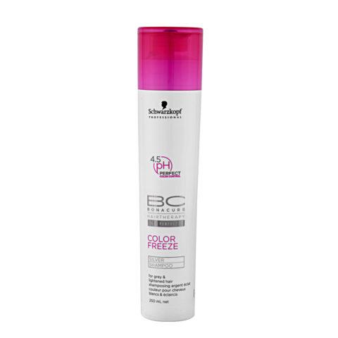 Schwarzkopf BC Bonacure Color Freeze Silver Shampoo 250ml - Shampoo für kühle Farbtöne