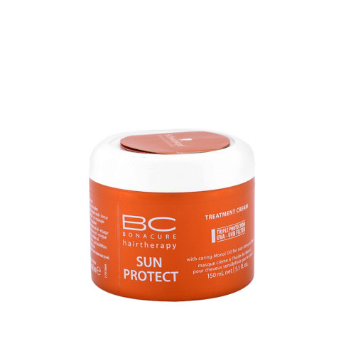 Schwarzkopf BC Bonacure Sun Protect Treatment Cream 150ml - Kur für sonnengestresstes Haar