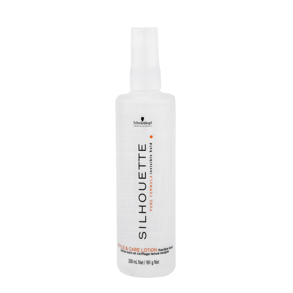 Schwarzkopf Silhouette Flexible Hold Styling & Care Lotion 200ml - volumen lotion