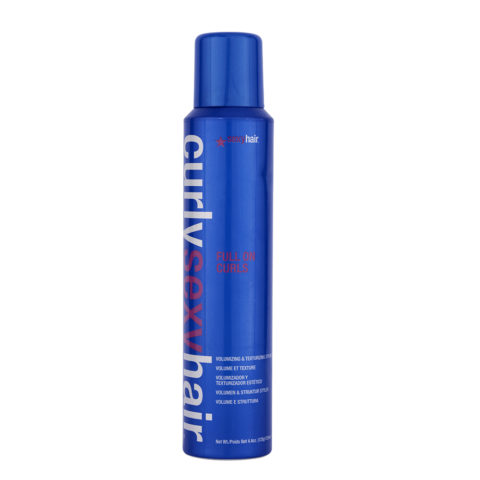 Curly Sexy Hair Full On Curls Volumizing and Texturizing Styler 125ml