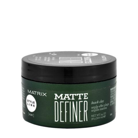Matrix Style link Play Matte definer Beach clay 100ml