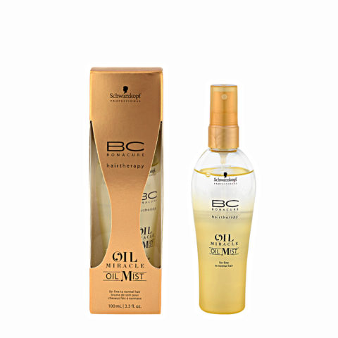 Schwarzkopf Professional BC Oil miracle Oil mist Fine to normal hair 100ml - Multifunktionales öl