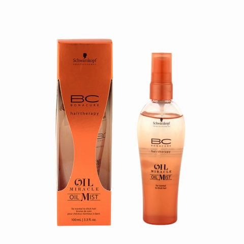 Schwarzkopf Professional BC Oil miracle Oil mist Normal to thick hair 100ml - Multifunktionales Pflegeöl