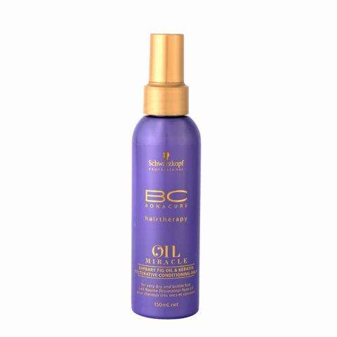 Schwarzkopf Professional BC Oil miracle Barbary fig oil & keratin Restorative conditioning milk 150ml