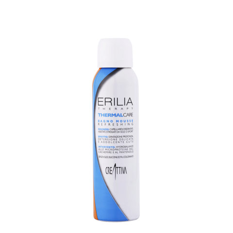 Erilia Thermal care Bagno mousse Refreshing 150ml - feutigkeitsspendendes Mousse Shampoo