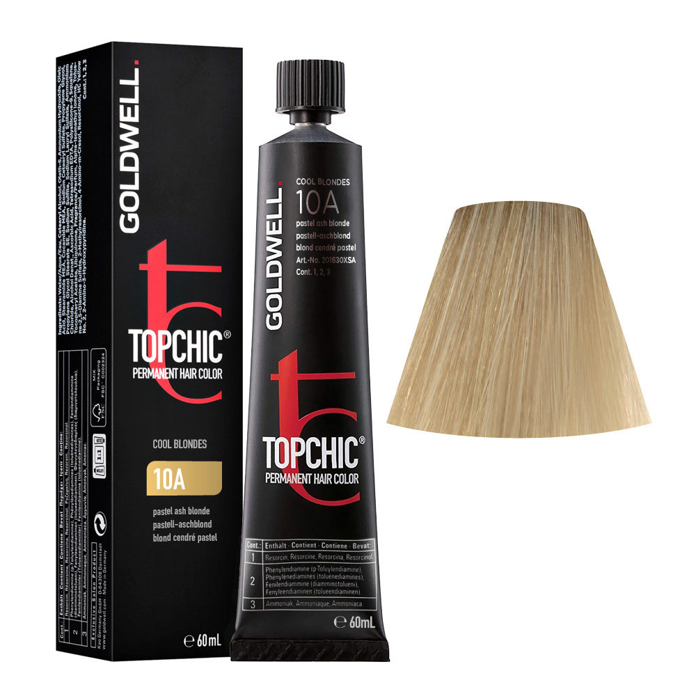 10A Pastell-aschblond Goldwell Topchic Cool blondes tb 60ml