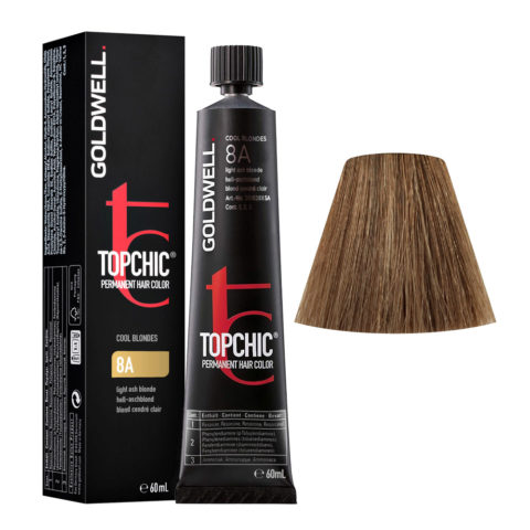 8A Hell-aschblond Goldwell Topchic Cool blondes tb 60ml