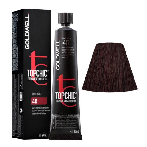 4R Dunkel-mahagoni brillant Goldwell Topchic Cool reds tb 60ml